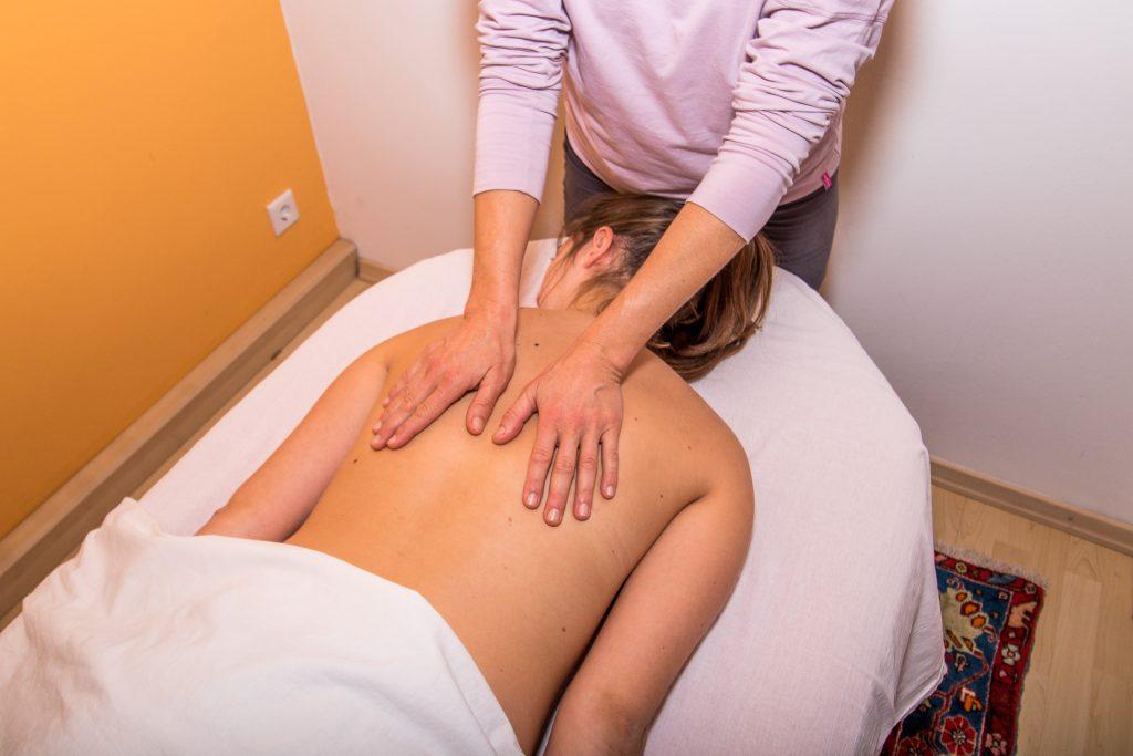 Entspannende Massagen