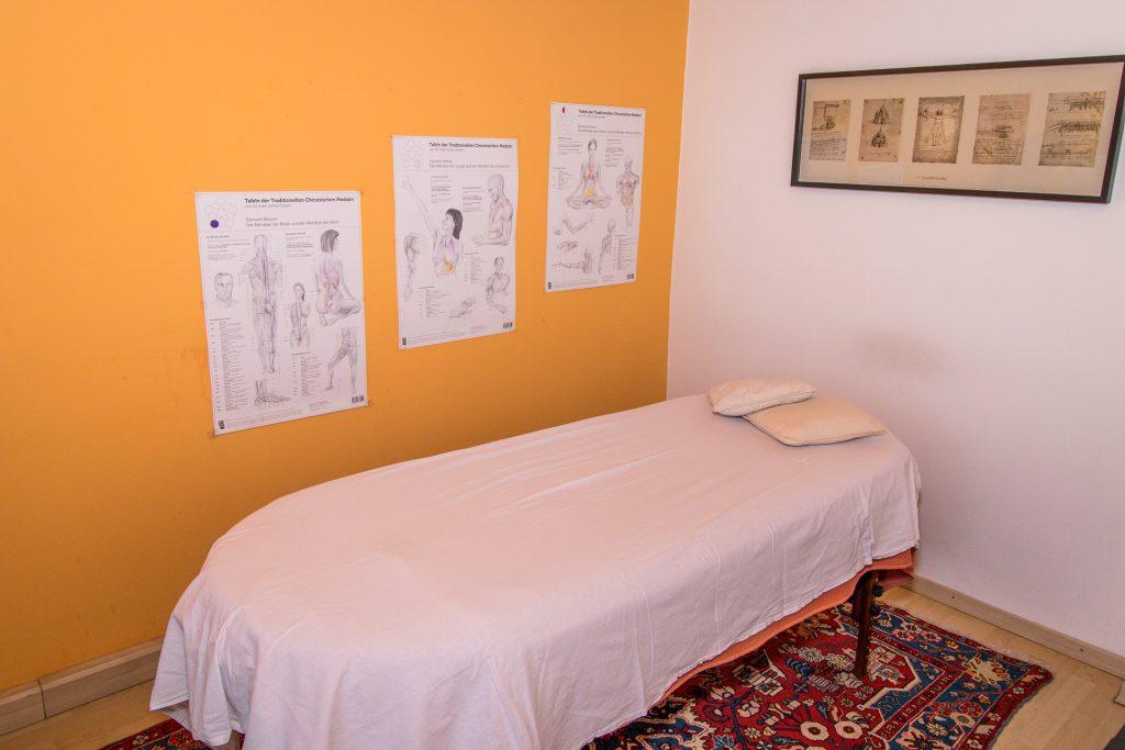Das Massagezimmer